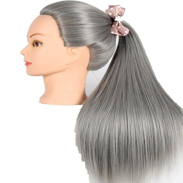 صباغة الشعر بالرمادي