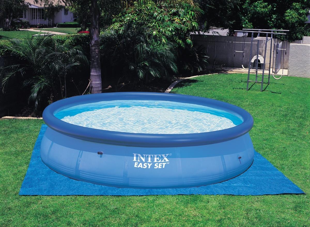 tapis de sol piscine intex