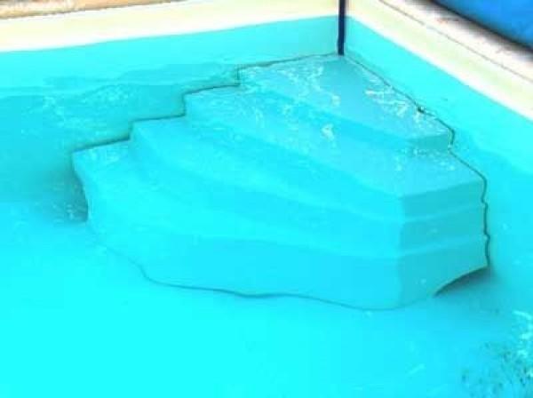 escalier piscine d angle cybele hauteur 80cm