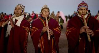 APTOPIX Bolivia Andean New Year