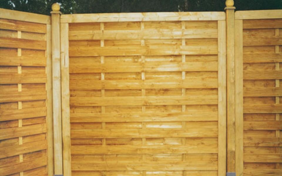 panneaux en bois jardin
