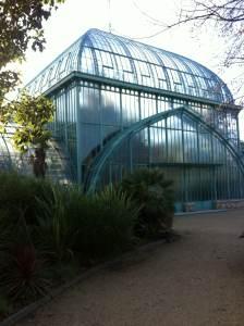 Serres du jardin d'Auteuil - Paris