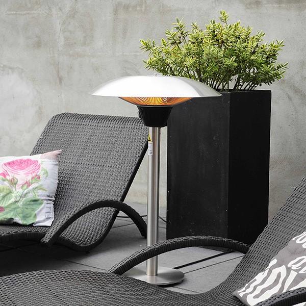 chauffage de table d exterieur halogene 2100w
