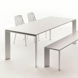 table rectangulaire a rallonge l270cm grande arche