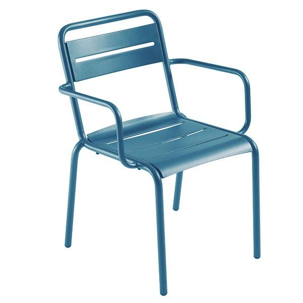 satz von 4 stuhlen mit armlehnen star