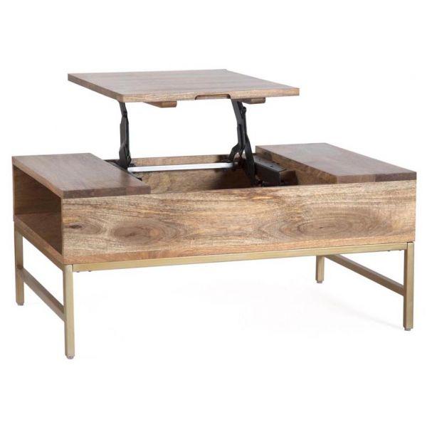 table basse avec plateau escamotable pamplona