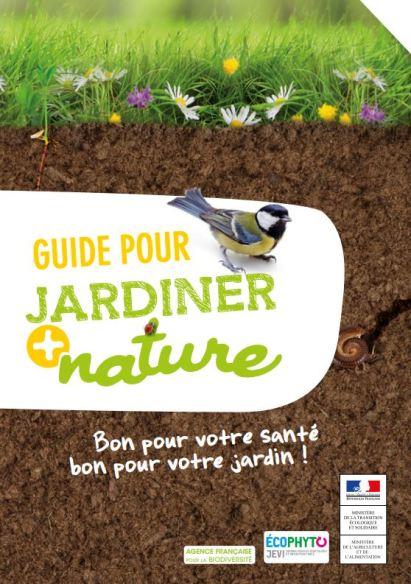 """Résultat de recherche d'images pour """"GUIDE POUR JARDINER PLUS NATURE"""""""