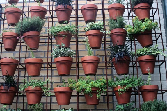 Un très bon exemple d'astuce pour jardiner verticalement