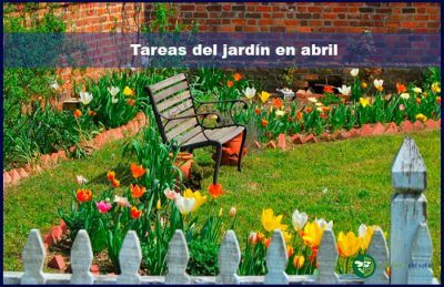 Tareas del jard n en abril for Jardines de abril