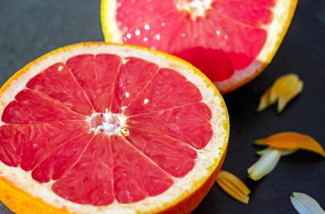 Grapefruit is a citrus that tolerates limestone soils