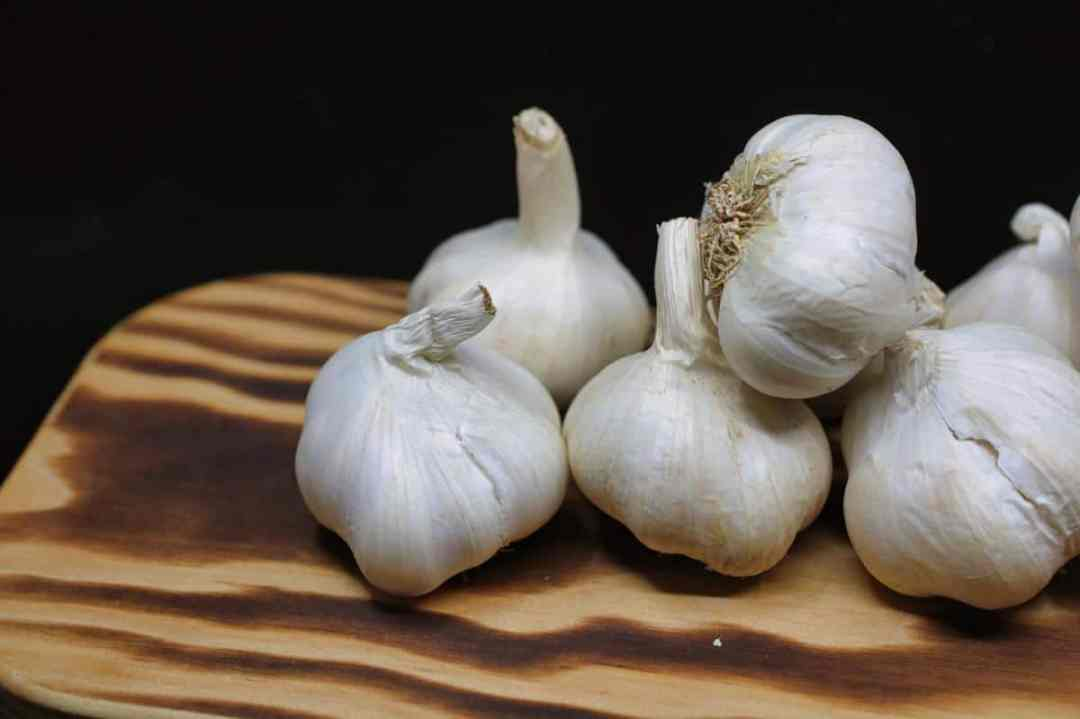 Garlic are bulbs that are planted in winter