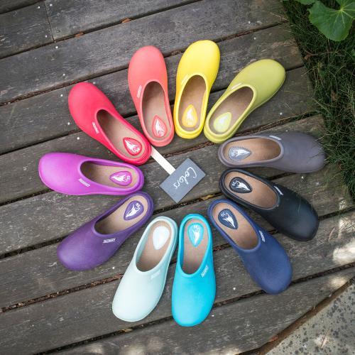 sabot color, un grand choix de couleurs pour assortir  à toute svos envies