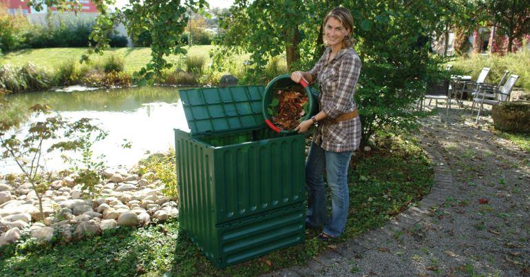 composteur eco 600l vaison la romaine jardinerie du theos