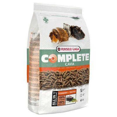 Nourriture complète pour cochon d'Inde Versele Laga, avec des fibres longues, non moulues, de nombreuses fibres brutes et peu d'amidon. Sans grains de céréales !