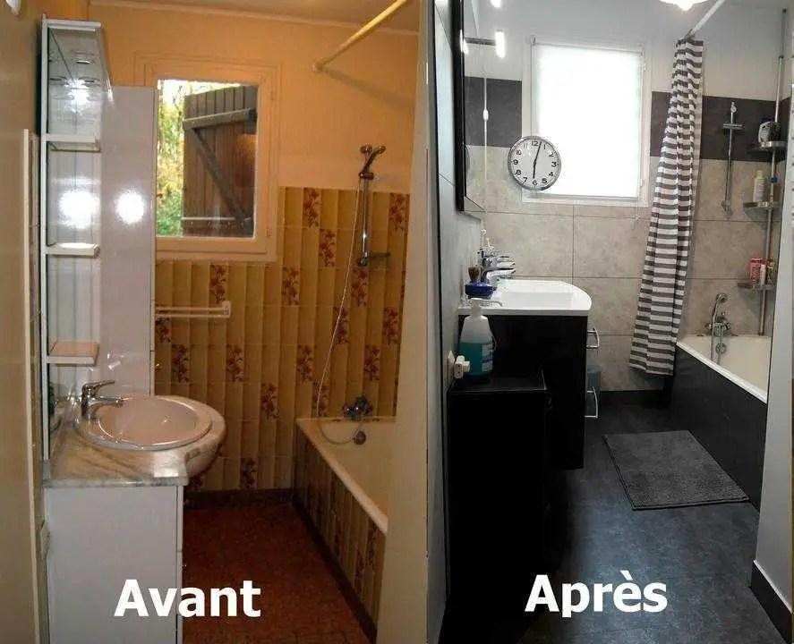salle de bain avec des dalles dumawall