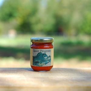 condiment bio sauce pimentée douce 90g