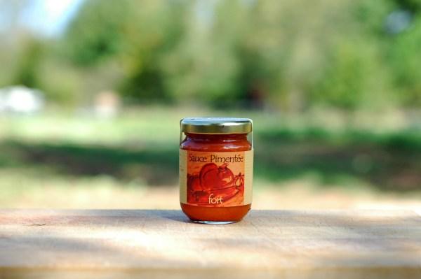 condiment bio sauce pimentée forte 90g
