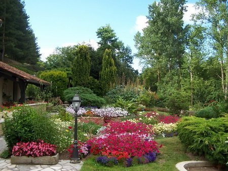 Entrée jardin florentin
