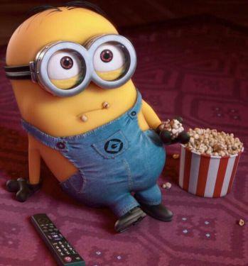 minion pop corn