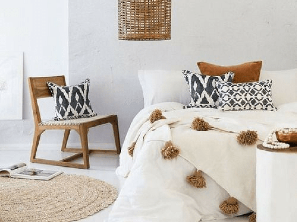 Sélection Déco : Linge de lit pour une ambiance bohème