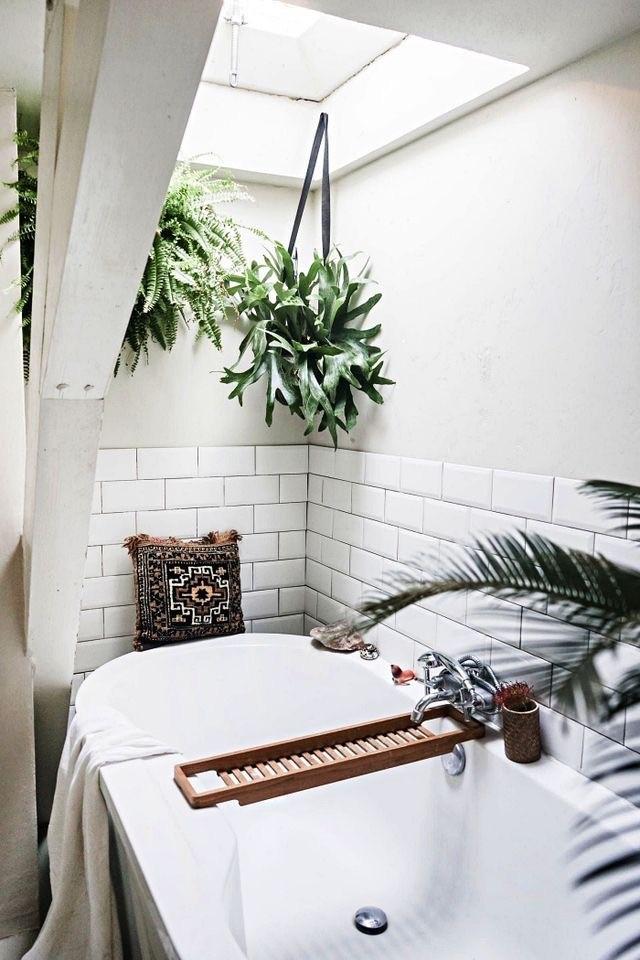 salle de bain en sous-pente