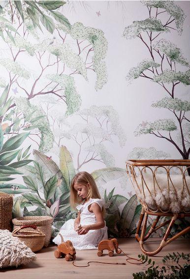 Du papier peint pour une chambre d'enfant