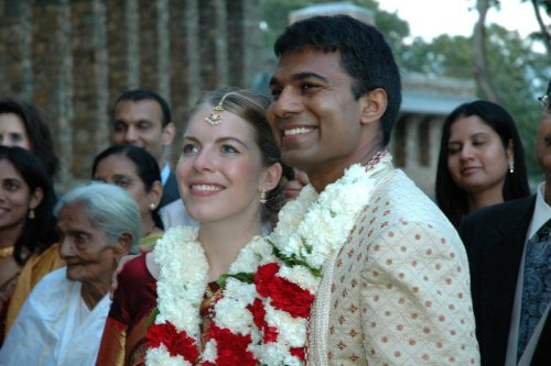 Lucy and Paul Kalanithi on their wedding day