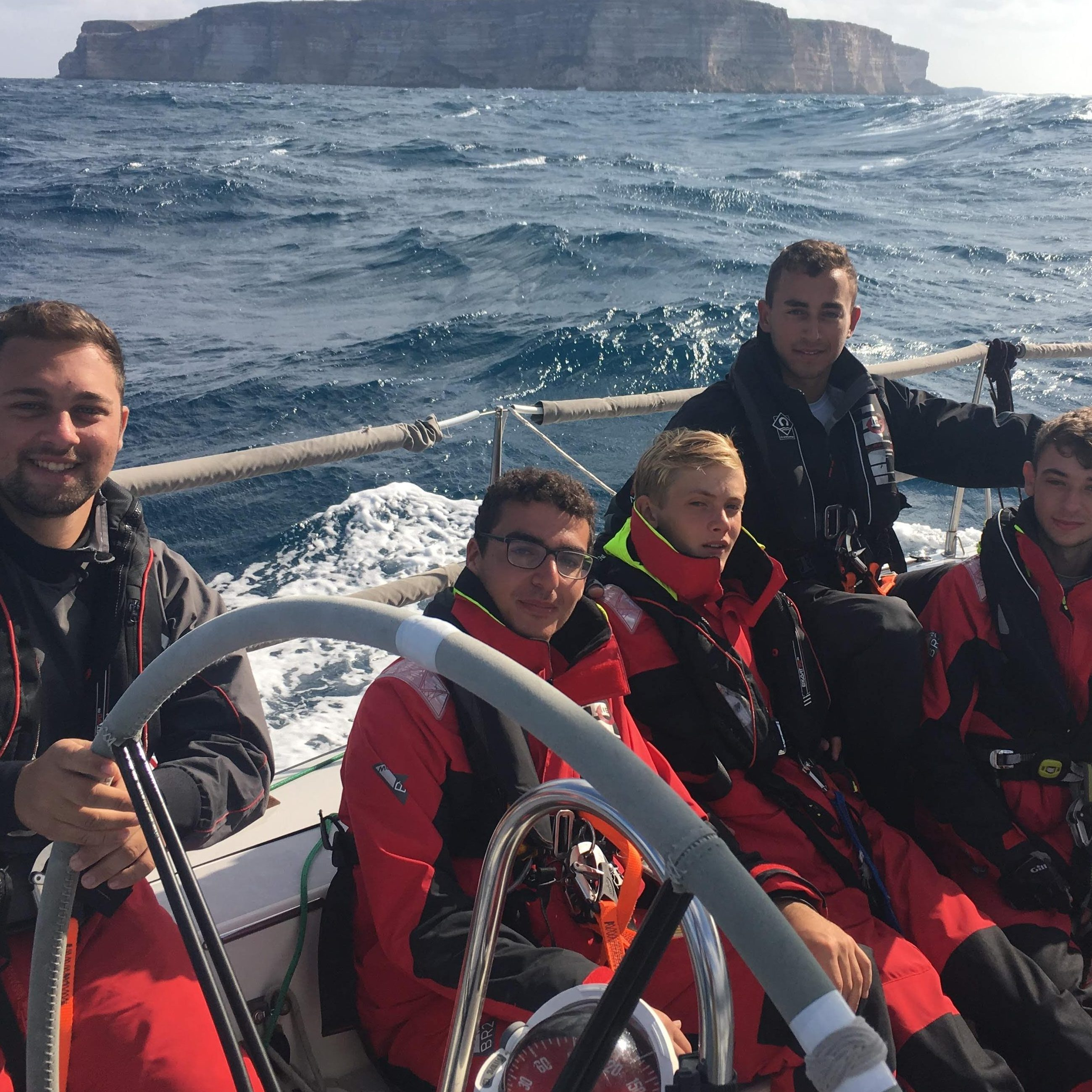 Jarhead Young Sailors closer towards completion of the Rolex Middle Sea Race (50th Anniversary Edition)