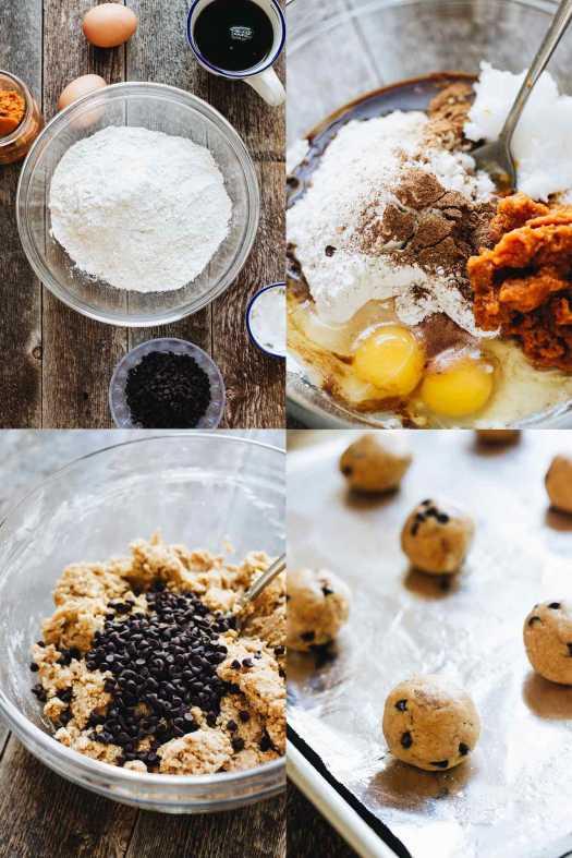 How to make Gluten Free Pumpkin Chocolate Chip Cookies!