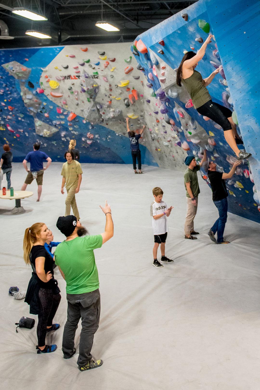 Friends Momentum Climbing Gym