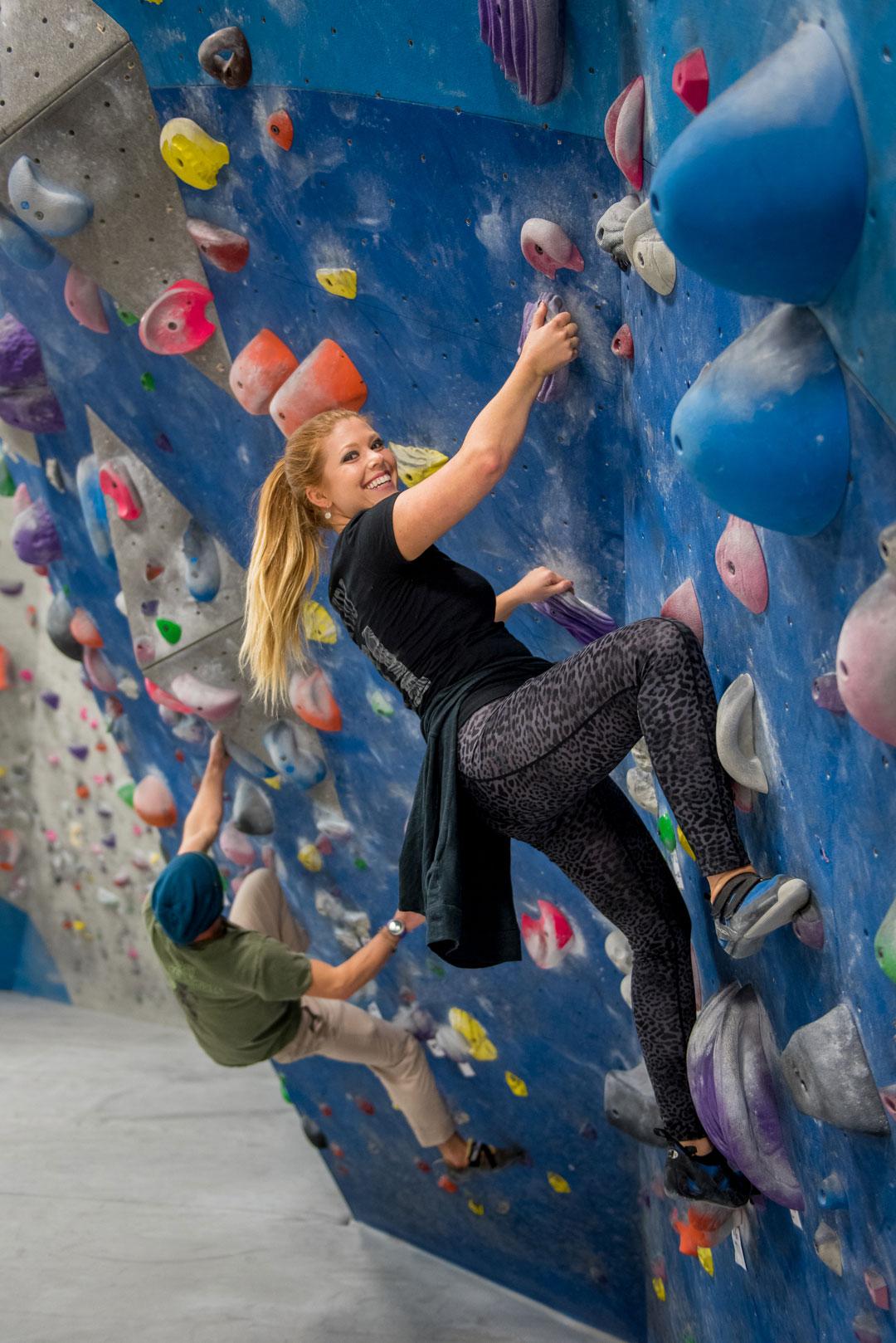 Rachel Momentum Climbing Gym