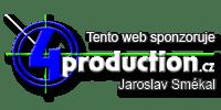 Firemní web 4production.cz (BUDE PROBÍHAT JEHO PŘESTAVBA)