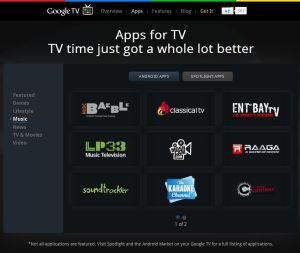 LP33 Music Television Google TV App in Spotlight