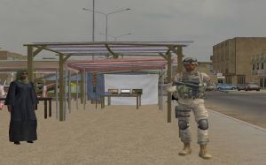 Virtual Iraq PTSD Therapy System Market Scene