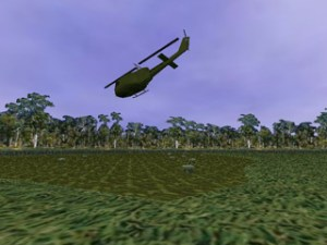 Virtual Vietnam PTSD Therapy Helicopter Take-Off