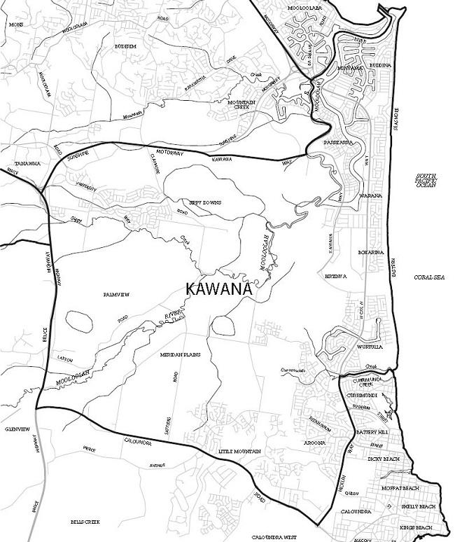kawana-map650