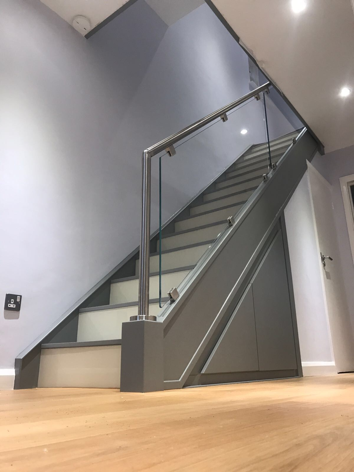 Classic Glass Staircases Traditional Glass Staircases | Metal And Glass Staircase