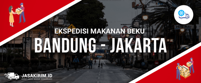 Ekspedisi Makanan Beku Bandung Jakarta