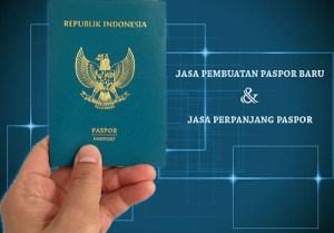 jasa pembuatan paspor baru dan perpanjang