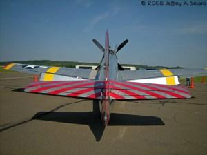 """The """"Betty Jane"""" a World War II era TP-51C Mustang fighter."""
