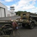 A Jeep and Trailer from the Military Museum of Southern New England