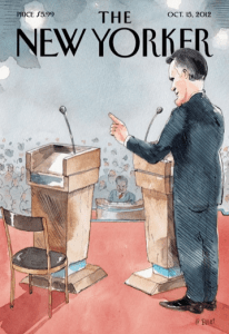 New Yorker Cover to Feature Empty Chair