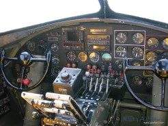 The Nine O Nine's Cockpit.