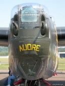 A closeup look at the Witchcraft's nose turret.