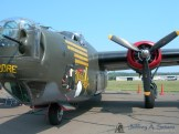 "The ""Witchcraft"" a World War II era B-24J Liberator."