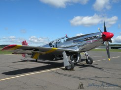 "The ""Betty Jane"" a World War II era North American TP-15C Mustang."
