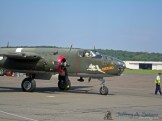 "The ""Tondelayo"" a World War II era B-25J Mitchell medium bomber."