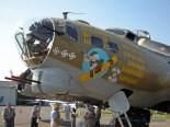 "The ""Nine O Nine"" a WWII era B-17G Flying Fortress."