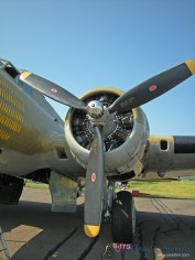 "The ""Nine O Nine"" a WWII era B-17G Flying Fortress."