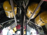 Oxygen bottles onboard the Witchcraft.